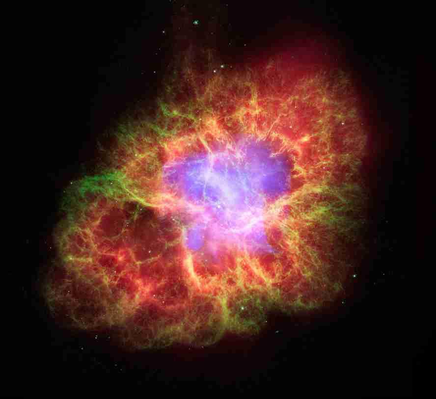 Ledakan bintang di galaksi disebut Supernova