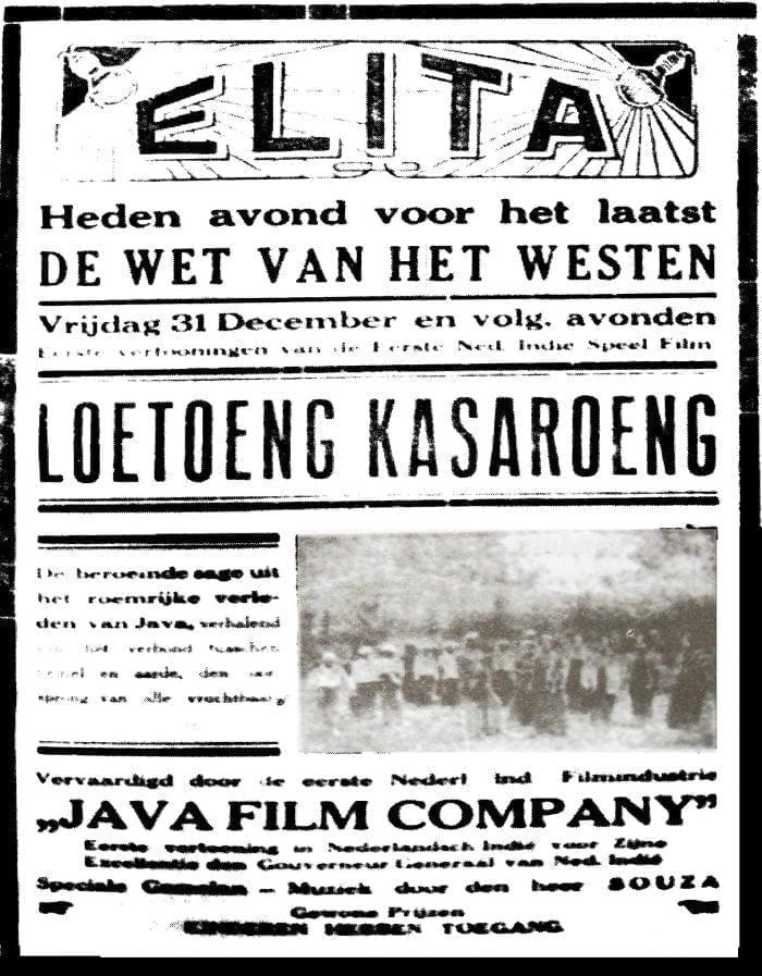 Loetoeng Kasaroeng Film Pertama Di Indonesia