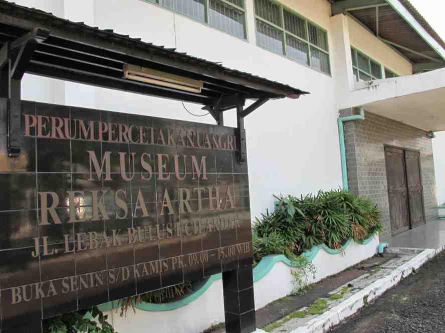 Museum Reksa Artha Jakarta
