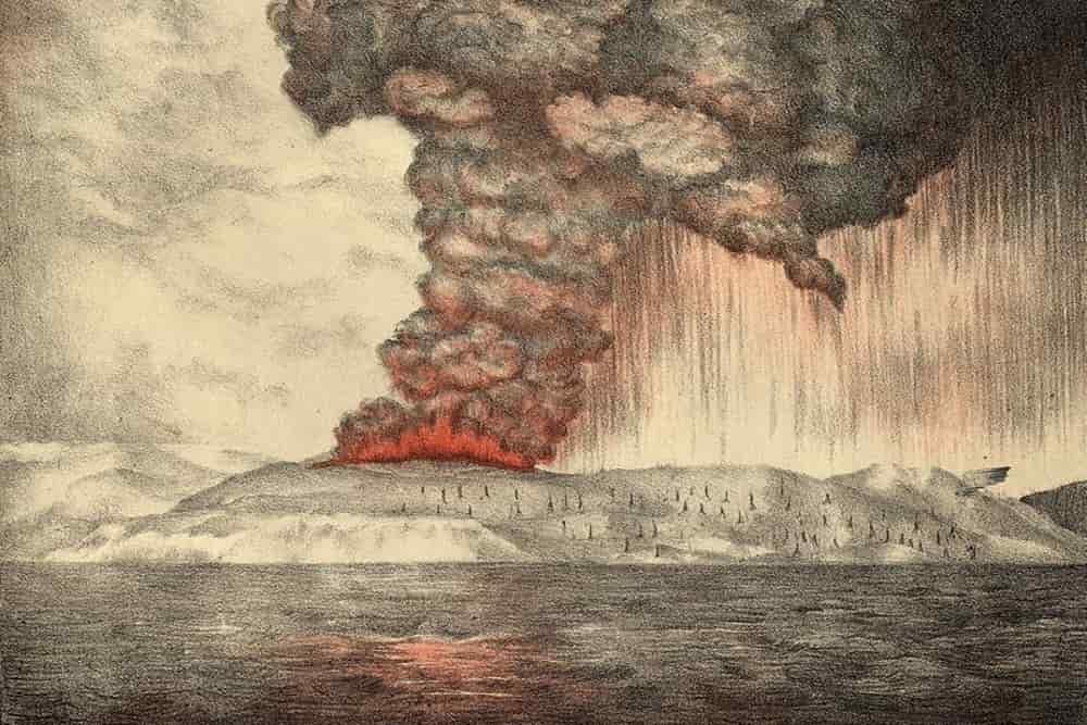 Erupsi Krakatau 1883