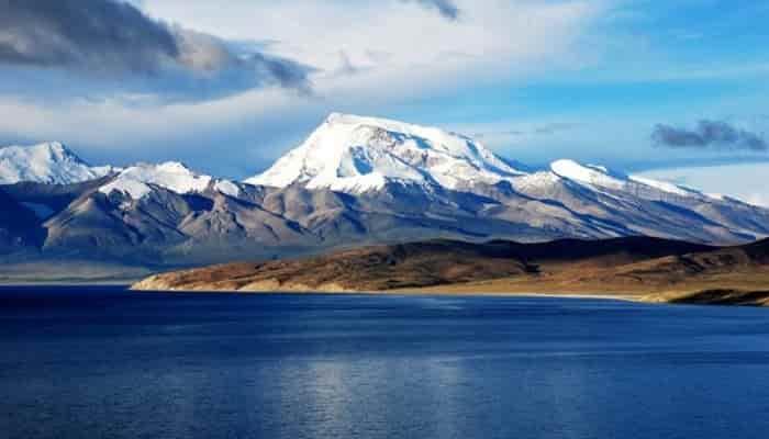 Danau Manasarovar Tibet