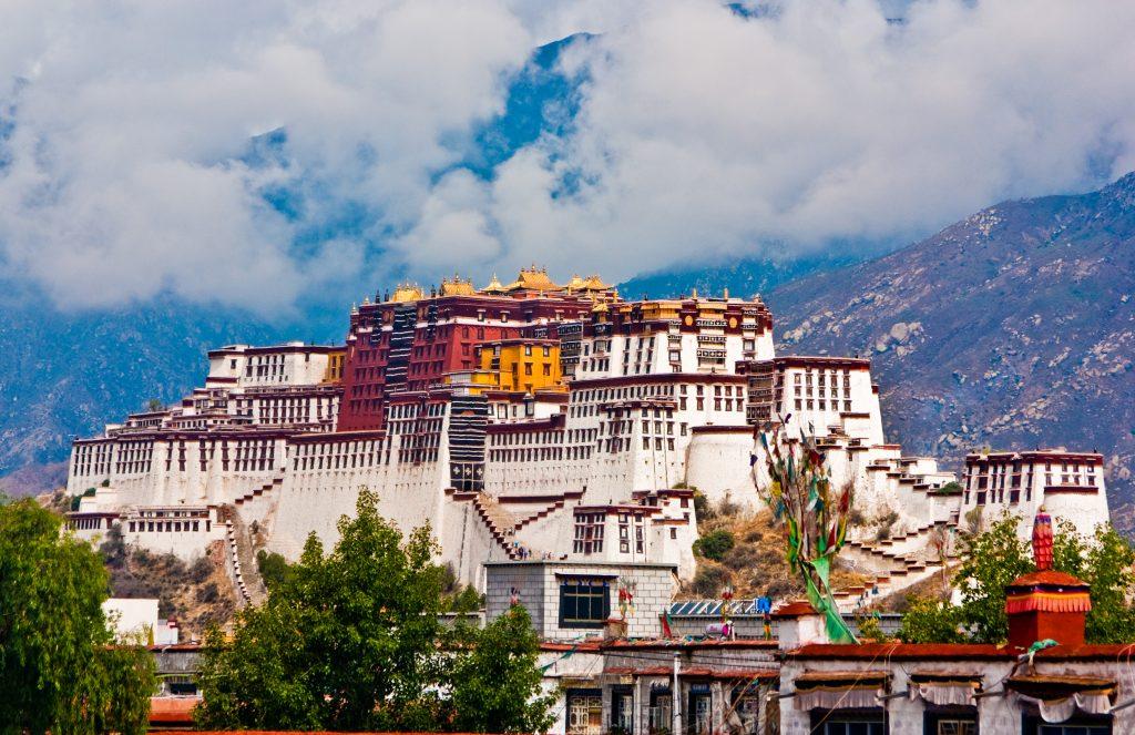 Istana Potala - Tibet Cina