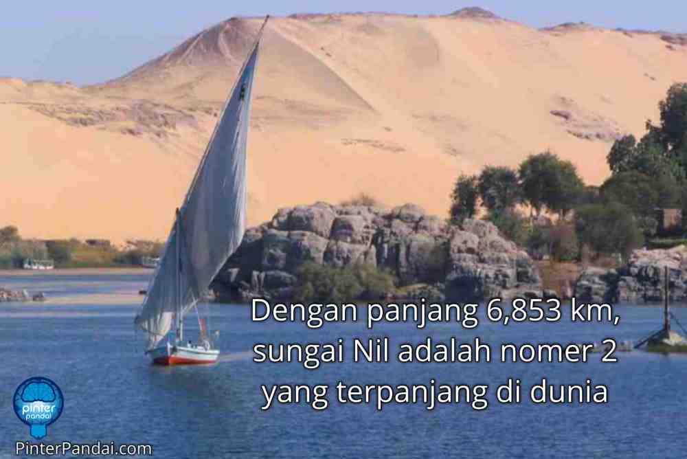 Sungai Nil Terpanjang ke 2