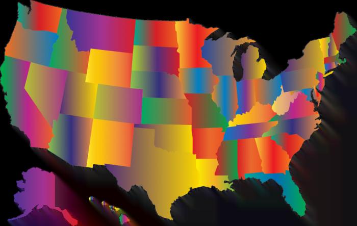Daftar Nama States Amerika Serikat