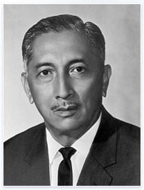 Yusof bin Ishak - Presiden pertama Singapura