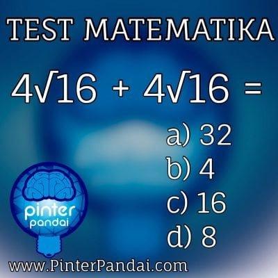 Tes matematika kuadrat