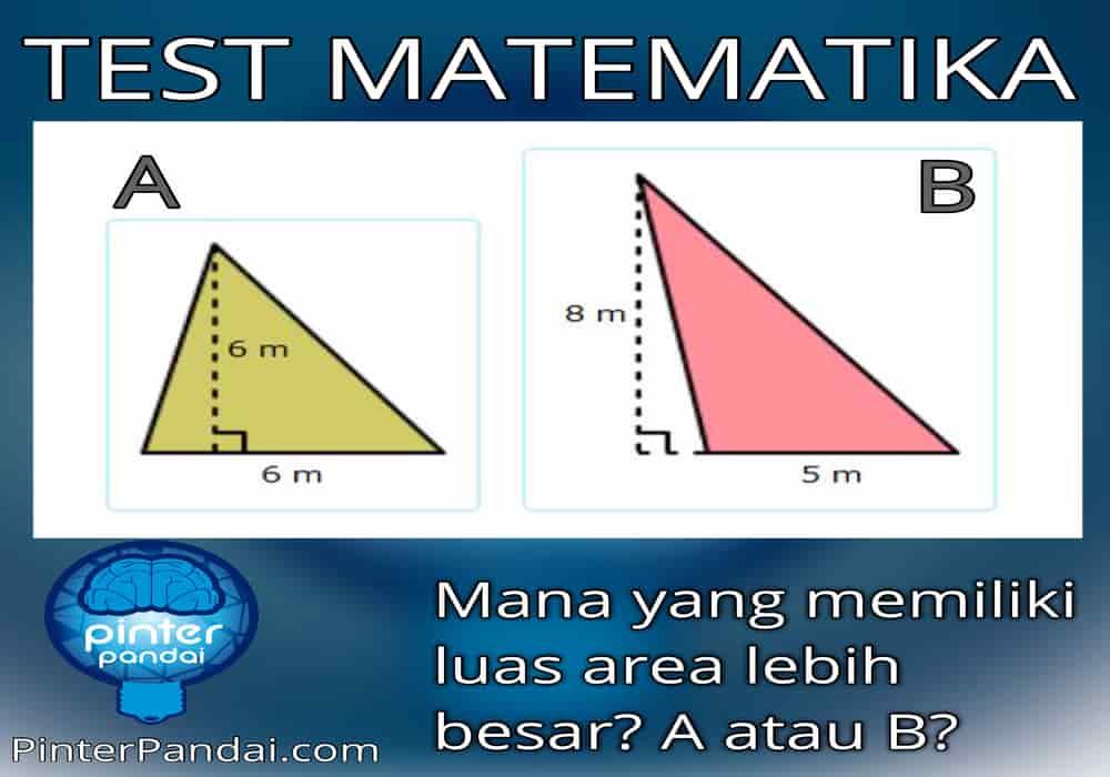 Rumus Segitiga Siku Siku Test Matematika Mana Yang Lebih Luas