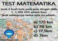 matematika skala peta