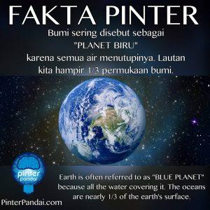 Planet biru - Bumi