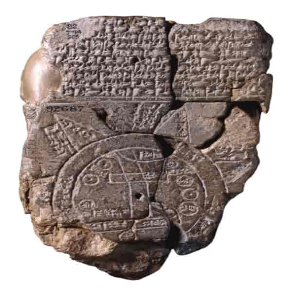 Peta Dunia Tertua