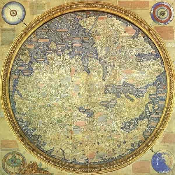 Peta Eropa Tertua Di Dunia