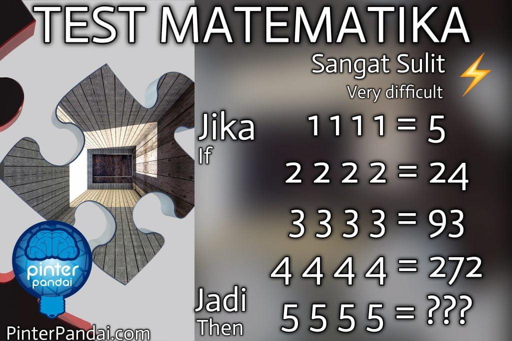 quiz test matematika -jika-jadi-1111=5