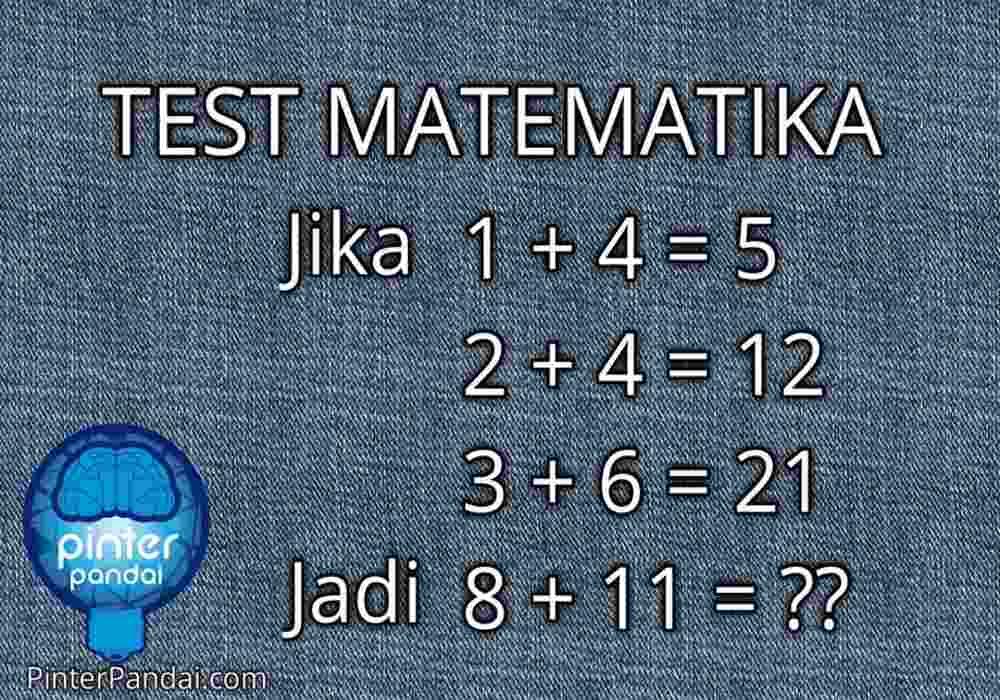 Tes Matematika jenius