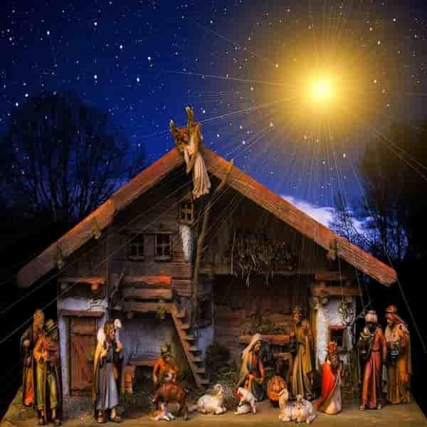 Dekorasi Natal - Representasi Gua Kelahiran Tuhan Yesus