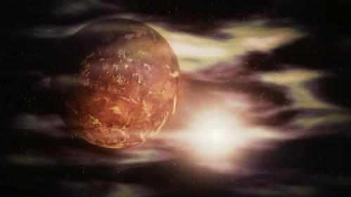 Planet Venus Terpanas Dalam Tata Surya