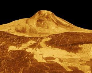 Planet Venus panas