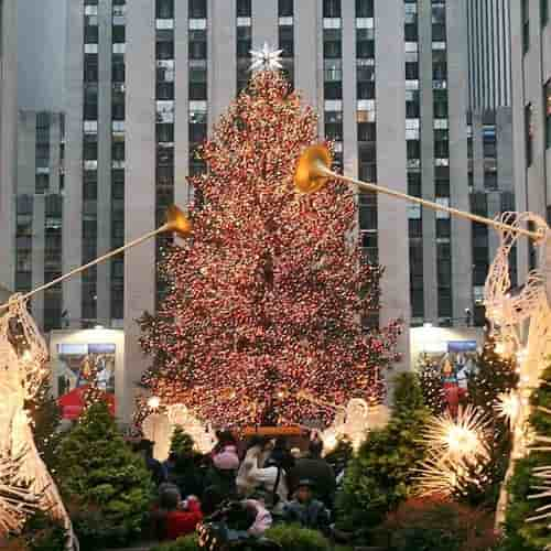 Pohon Natal Rockefeller Center NY