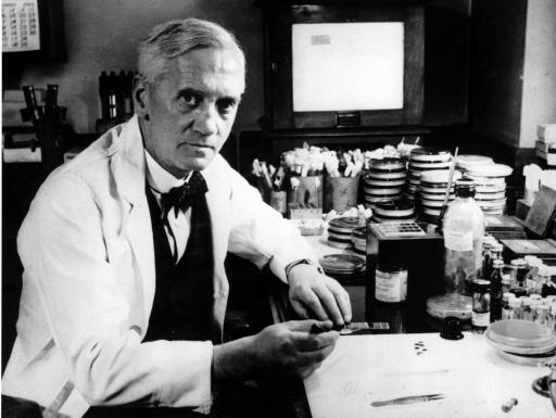 penemu antibiotik alexander fleming