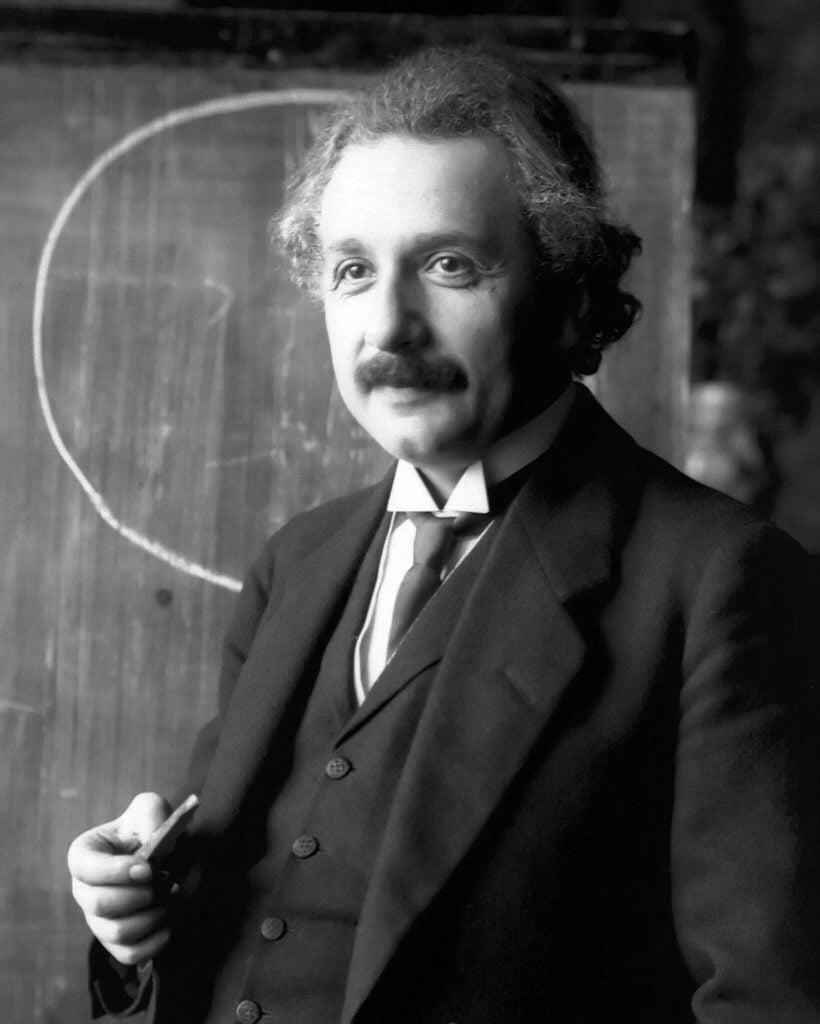Potrek Einstein 1921