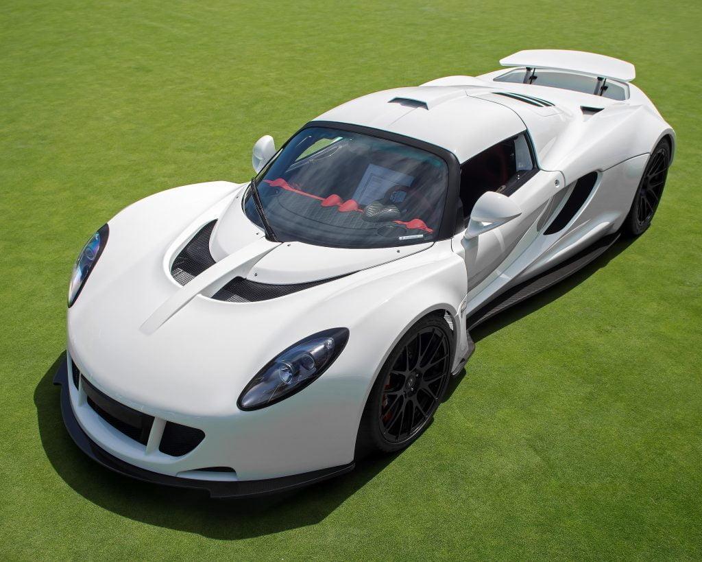 Hannessey Venom GT, max 428 km/jam, tahun 2012
