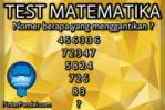 Quiz Matematika Deret Angka