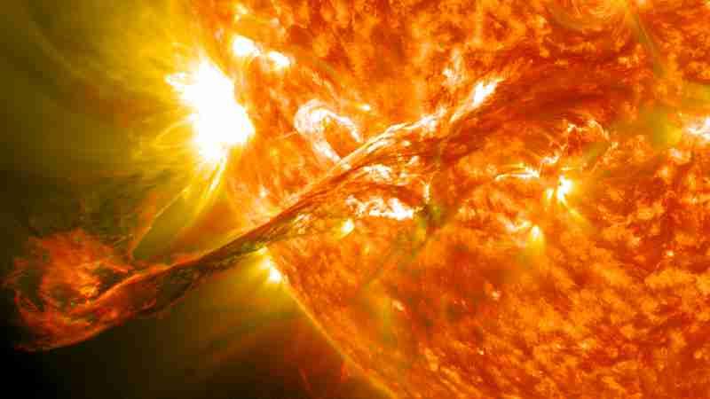 Solar flares / jilatan api