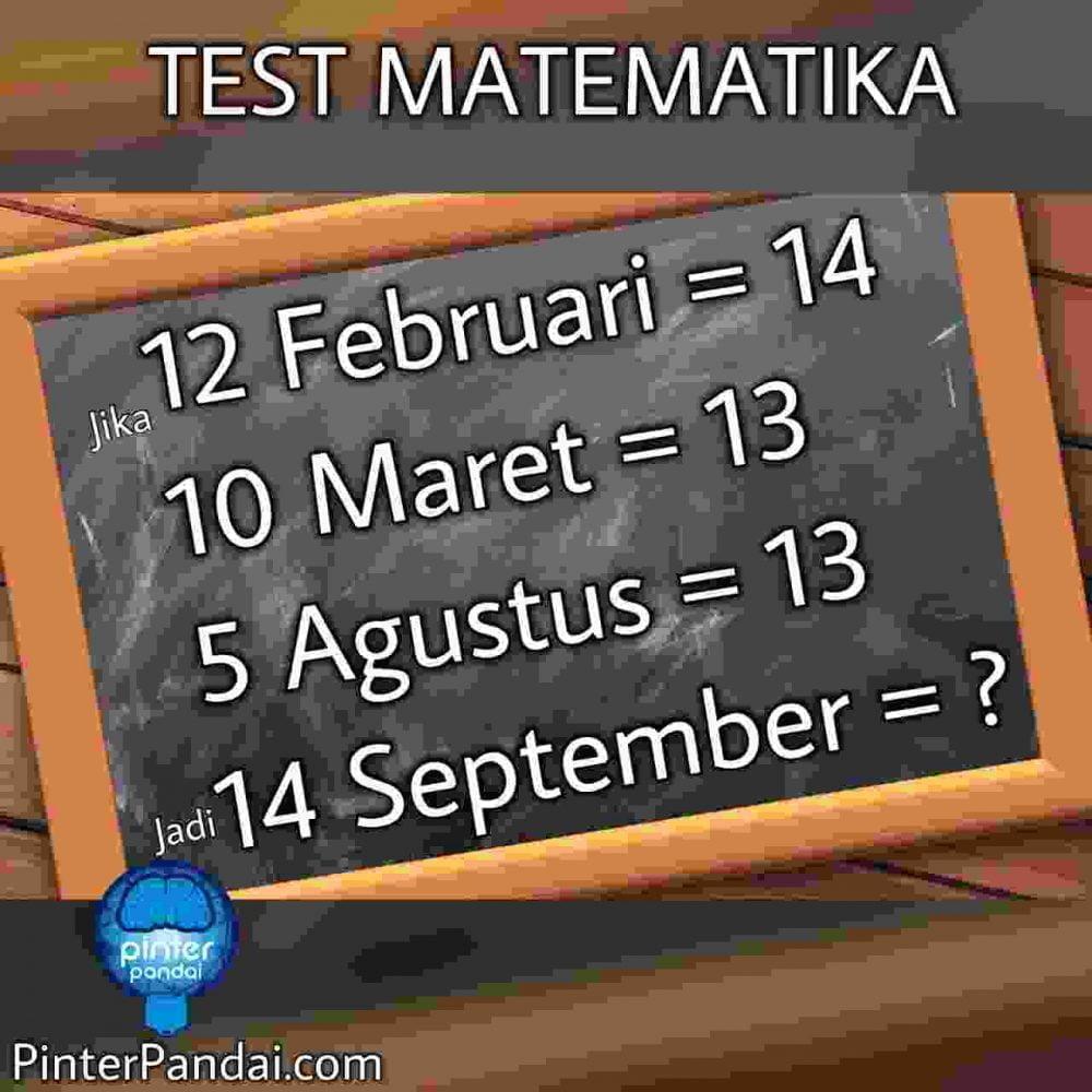 Tes Matematika Deret Angka