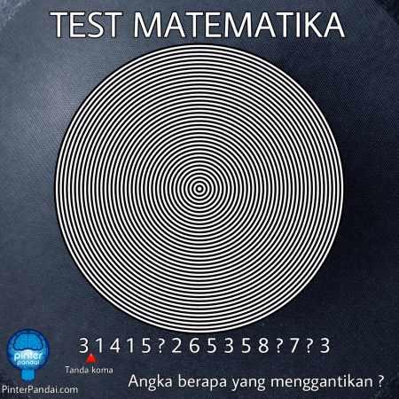 Tes Matematika Lingkaran