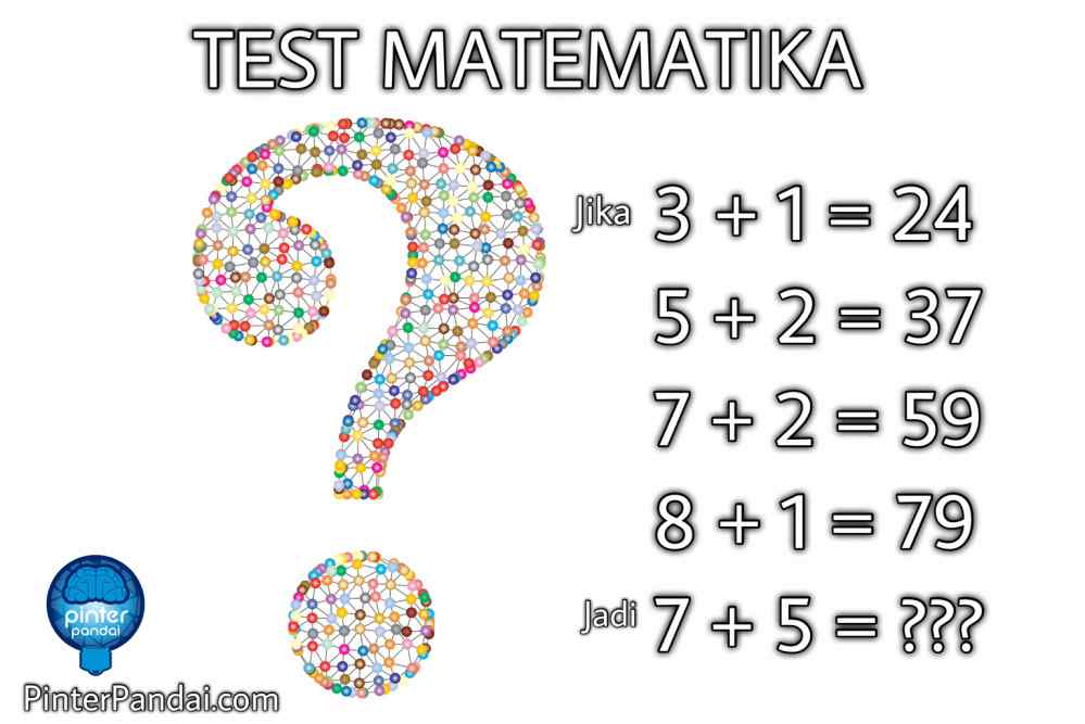 Tes Matematika Logika Aritmatika
