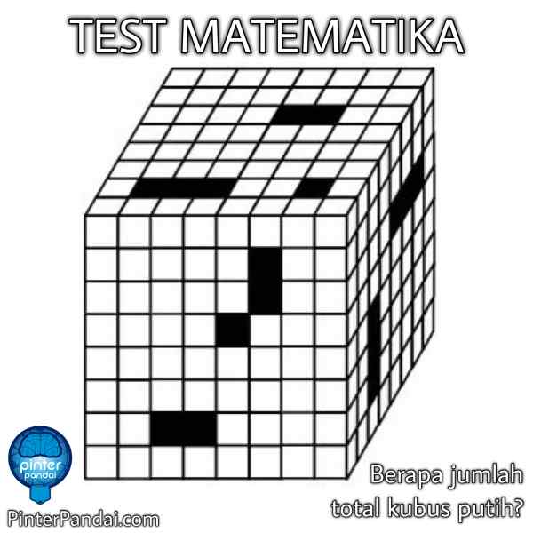 soal tes matematika kubus
