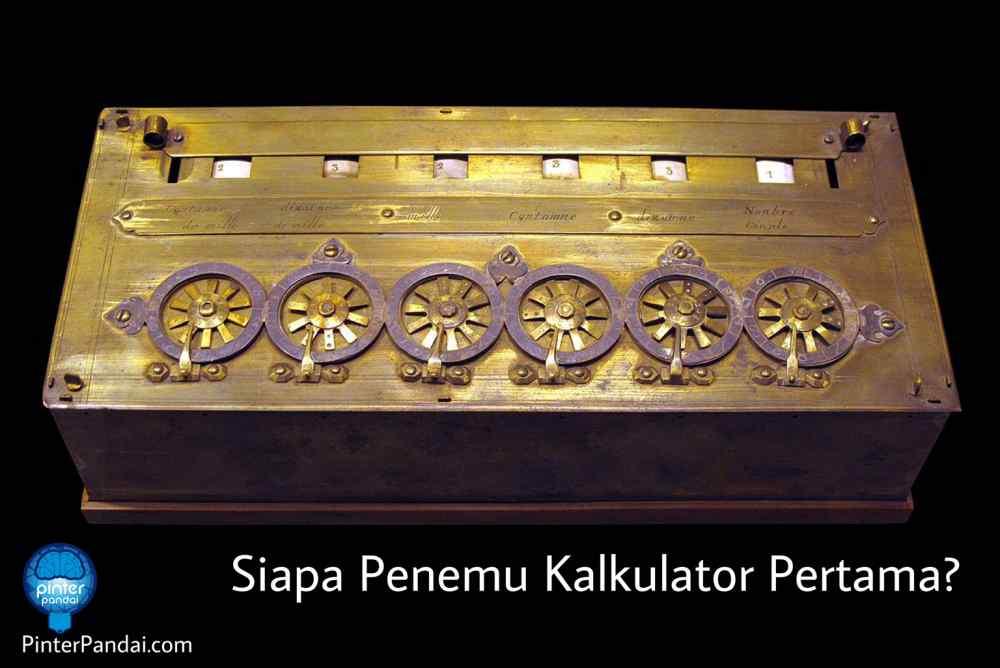 penemu kalkulator pertama