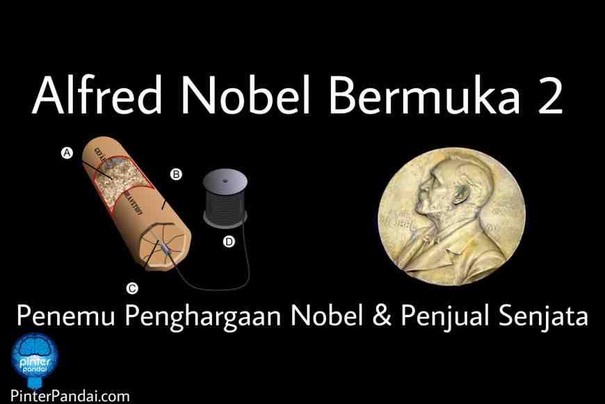 Alfred nobel penemu dinamit dan penghargaan Nobel