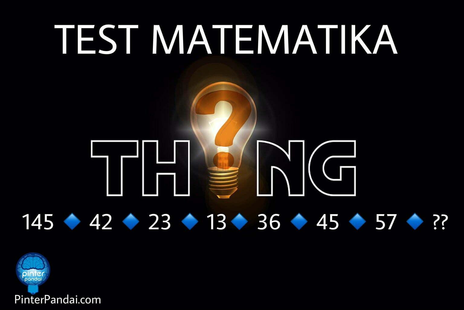 Tes Matematika Deret Angka - Bersama Cara Menghitung Akar Kuadrat