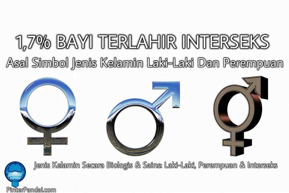 Asal Simbol Jenis Kelamin Laki-Laki Dan Perempuan