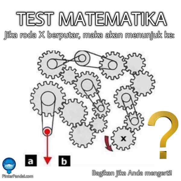 Tes Matematika Pemecahan Masalah Visual Psikotes Roda X