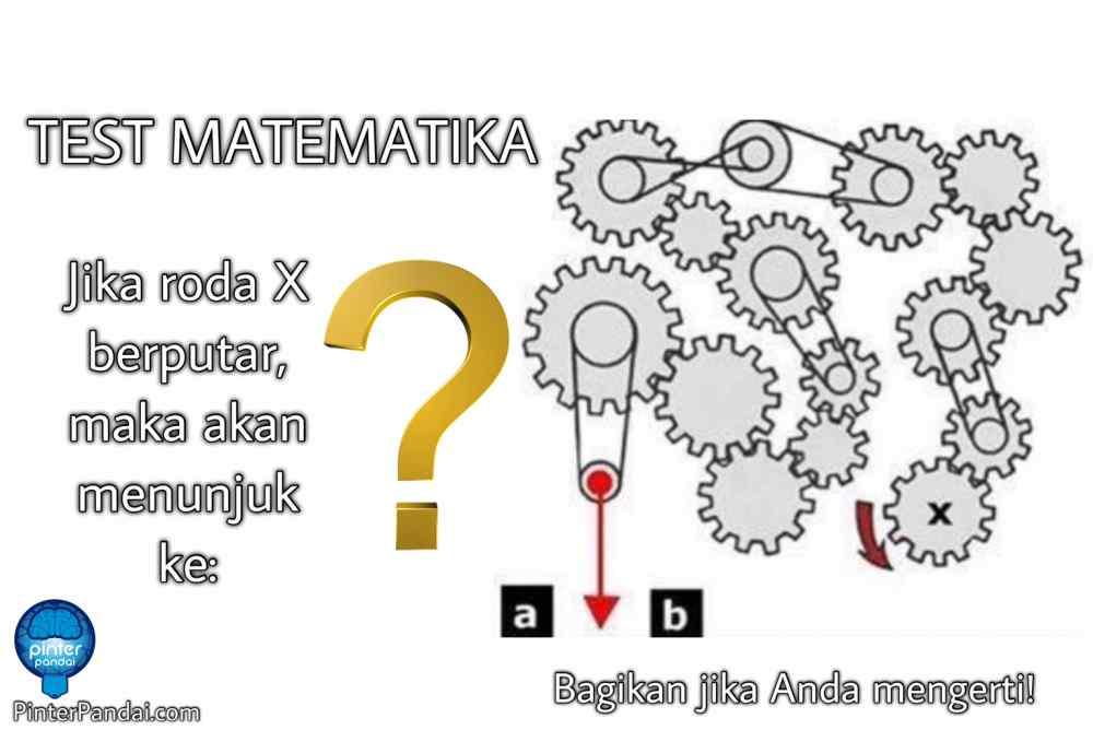 Tes Matematika Pemecahan Logika Visual Psikotes Roda X