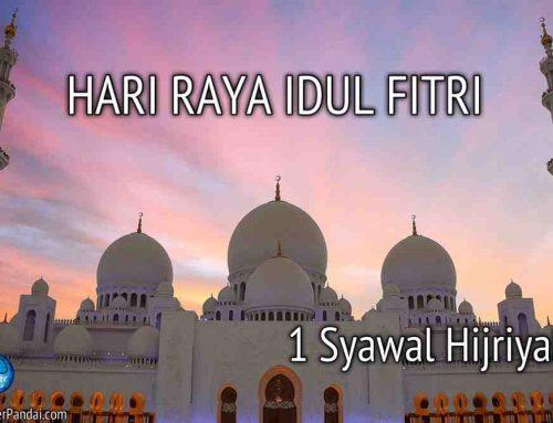 Idul Fitri 1 Syawal Hijriyah