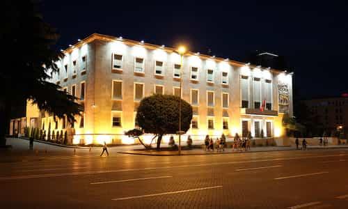 Fakta Albania - Kryeministria, tempat kerja resmi Perdana Menteri