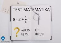 Tes Matematika 8-2÷1/4=