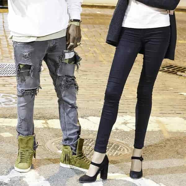 Cara buat jeans belel