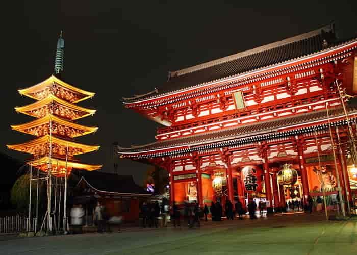 Kuil Sensoji Tokyo