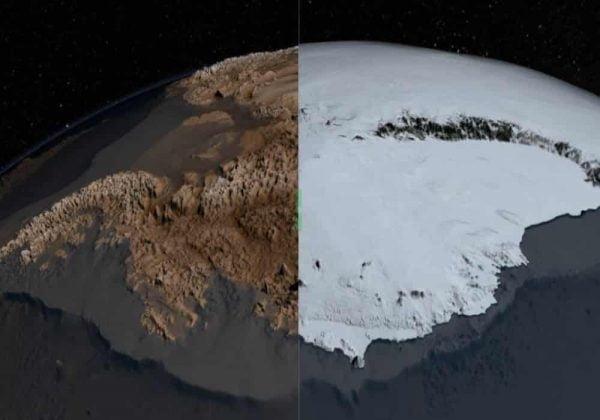 Antartika tanpa es