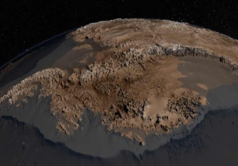 Nasa Antartika tanpa es