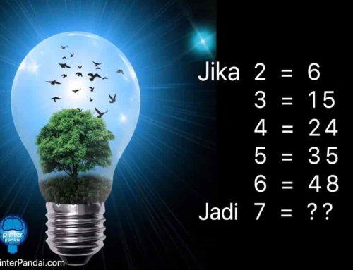 Matematika Jika 2=6, 3=15, 4=24, 5=35, 6=48 Jadi 7=??