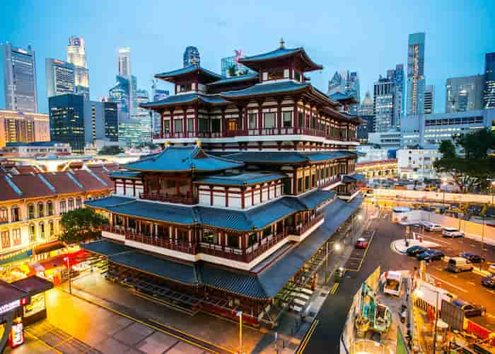 Buddha Tooth Relic Temple - Singapura
