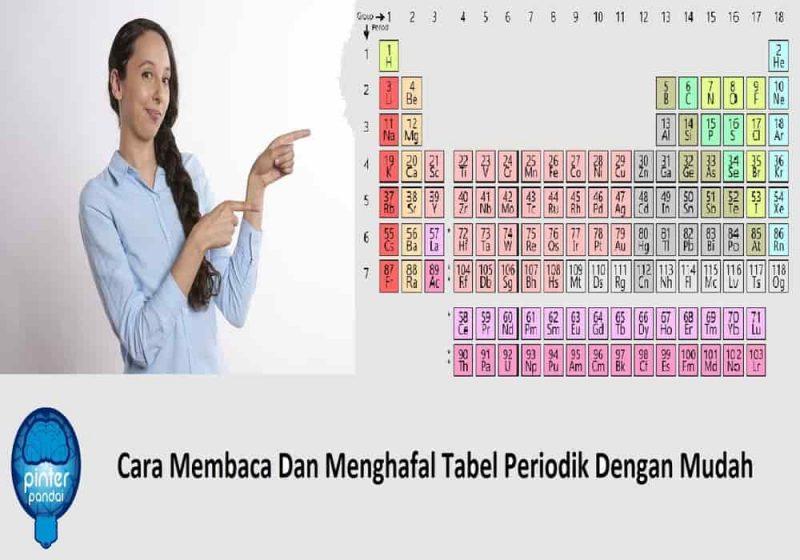 Cara Membaca Dan Menghafal Tabel Periodik Dengan Mudah