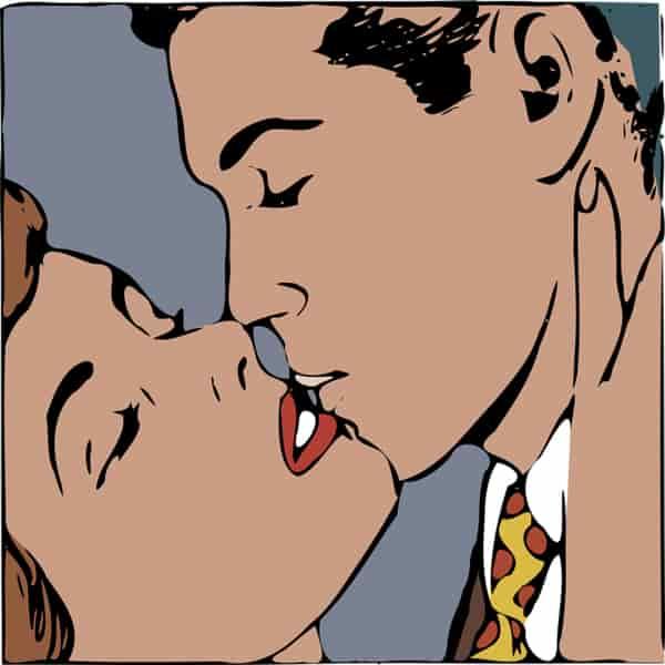 Cara berciuman