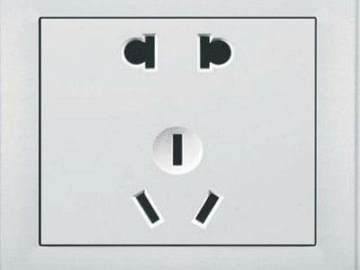 Colokan listrik di China