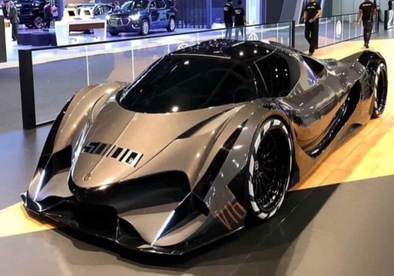 Mobil tercepat di dunia Devel sixteen