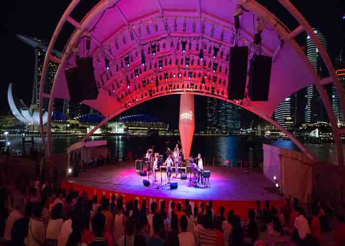 Esplanade - Theatres on the Bay - Singapura - outdoor